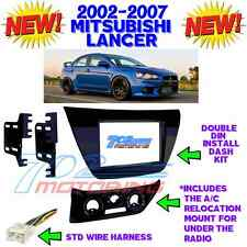 NEW! MITSUBISHI LANCER 2002-2007 AFTERMARKET RADIO STEREO INSTALLATION DASH KIT