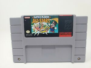 Super Mario All Stars Snes Super Nintendo Works Tested Authentic
