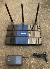 TP-Link Archer C7 AC1750 Wireless Dual Band Gigabit Wifi Router tp link black