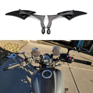 Black Blade Motorcycle Rearview Mirrors for Kawasaki Vulcan S /2000 1500 800 500