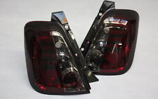 LED LUCES TRASERAS FIAT 500 Abarth Negro Rojo fumar