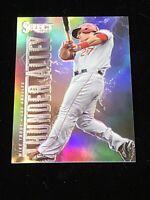 2013 Panini Select Baseball Mike Trout Thunder Alley Silver Holo Prizm TA20 RARE
