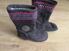 Clarks Girls Boots Size 7 G, New