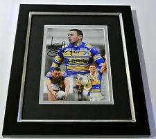 Kevin Sinfield SIGNED 10X8 FRAMED Photo Autograph Display Leeds Rhinos PROOF COA