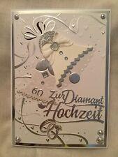 40 Diamanthochzeitskarten Diamanten Hochzeit Glückwunschkarten 7311517 TA