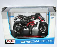Maisto - DUCATI HYPERMOTARD SP (2013) Motorbike - Model Scale 1:18