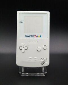 Nintendo - Coque Game Boy Color - GBC - Blanche - Vitre VERRE - Qualité premium