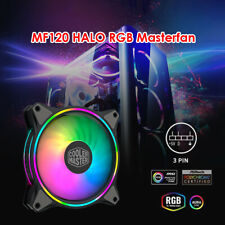 Cooler Master MF120 12cm DC 12V ARGB 4-Pin PWM Quiet Fan for Computer PC Case