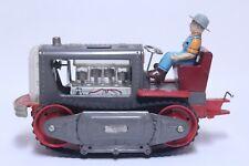 Nice Vintage Large Tin Nomura Japan Battery Operated Bulldozer Tractor Works
