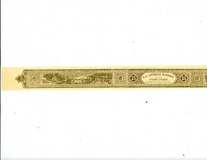 "US RARE MNH Full Cigar Stamp - Dollar Value $15.00 - Size 1 1/4"" X 161/2"""