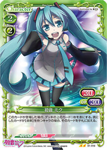 Vocaloid Hatsune Miku Trading Card Precious Memories 01-018 DIVA Singer