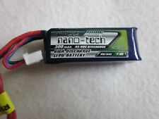 Turnigy nano-tech Akku LiPo Battery 300mAh  45-90C 7,4V  2 Stück