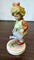 """Vtg Goebel Hummel """"Little Gardener"""" #74, TMK 6 Porcelain Figurine, West Germany"""
