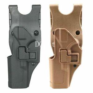 Tactical Left Hand Waist Belt Paddle Pistol Holster for Glock 17 19 22 23 31 32