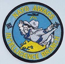 Aufnäher Patch NATO AWACS E-3A INTELLIGENCE BRANCH ...........A2436