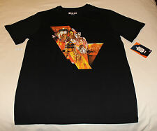 BBC Doctor Who Symphonic Mens Black Printed Short Sleeve T Shirt Size L New