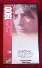 NOVECENTO 1900 - VERY RARE UK VHS PAL BOXSET widescreen