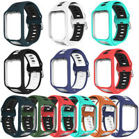 Replacement Sport Wrist Watch Band Strap For TomTom Runner 2/3 Spark 3 GPS Watch