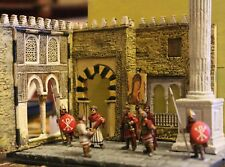 28mm Byzantine Emperor and Retinue..Pro~Painted