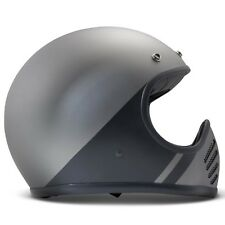 DMD Seventy Five Motorcycle Helmet - Shadow Black - M