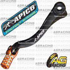 Apico Black Orange Gear Pedal Lever Shift For KTM EXC 200 2008 Motocross Enduro