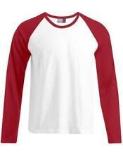 Bequem sitzende Baseball Langarm Herren-T-Shirts
