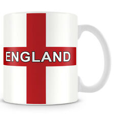 England - Football - St George Cross - Ceramic Coffee Mug – Makes an Ideal Gift