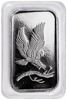 SilverTowne Mint Eagle Design 1 Troy oz. .999 Fine Silver Bar SKU48242