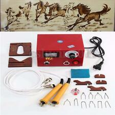 220V 50W Multifunction Pyrography Machine Gourd Wood Pyrography Crafts Tool