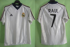 Maillot Real Madrid RAUL #7 Adidas vintage Football Soccer Shirt - S