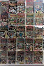 Archie Comics Huge 25 Comic Book Collection Lot Set Run Books Box 7