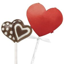 Red Heart Lollipop Pocket Kits 8 ct from Wilton #0957 - NEW