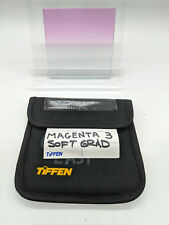 "Tiffen 4x4"" Magenta 3 Soft-Edge Graduated Filter MFR # 44CGM3S"
