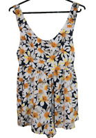 BLOSSOM | Women's Girl's Summer Shorts Jumpsuit Playsuit | Daisy Design | Size 6