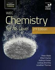 WJEC Chemistry for AS Level Student Book: 2nd Edition by P Blake 9781912820566