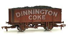 Dapol 4f-090-101 9 Plank Wagon Dinnington Coke Weathered Era 3
