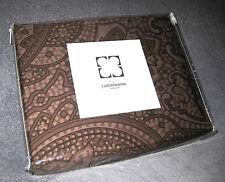 LIZ CLAIBORNE - New York Brown Paisley 84W x 80L DRAPES & TIES SET