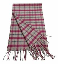 3259d9c69331 Nouvelle annonce100% cachemire écharpe made in Scotland carreaux roses