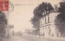 CARTE POSTALE ANCIENNE CPA FRETEVAL LA GARE (1907)