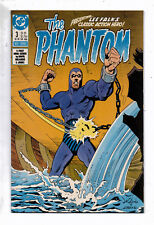 The Phantom #3 and #4,of 4-issue series, DC,1988,VF, based on the comic strip