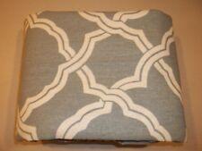 Pottery Barn Kendra Trellis Duvet Cover Twin Blue #394