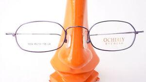 Brillenfassung Brille kleine rechteckigig leicht 8Gramm Bügel ohne Schraube Gr:M