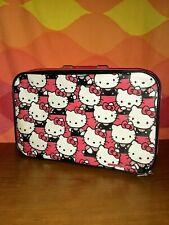 RARE Vintage Hello Kitty Kids Suitcase Luggage Sanrio 1990 Bag Travel Case