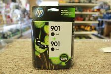 HP CZ075FN 901 Black Ink Twin Pack EXP: FEB 2020 *Brand NEW w/FREE Shipping*