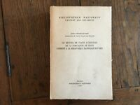 Vallery-Radot The Songbook Pläne D'Gebäude von Der Compagnie De Jesus 1960