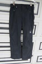 Spyder Mens Size Small Snow Pants Black Ski Snowboard