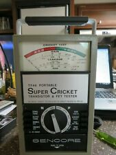 Sencore TF46 Portable Super Cricket Transistor & FET Tester Very Nice Condition