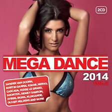 Various Artists : Mega Dance 2014 - Volume 2 CD (2014) ***NEW***