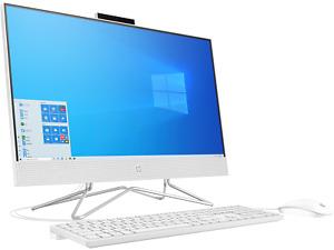 """HP 24-df0032na 23.8"""" AIl in One Desktop PC i5-1035G1 8 GB 1TB White - 1C1R0EA #P"""