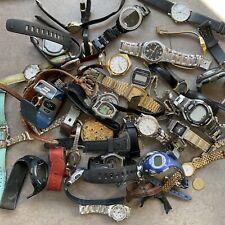 Great Bulk Watch Lot Bulova, Seiko, Timex & Many More Lot #602